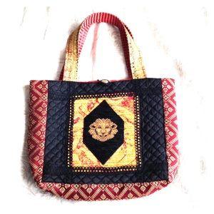 Lion Renaissance Bag Purse Handmade